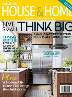 Canadian House and Home August 2018 Cover