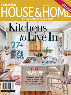 Canadian House & Home March 2019 Cover