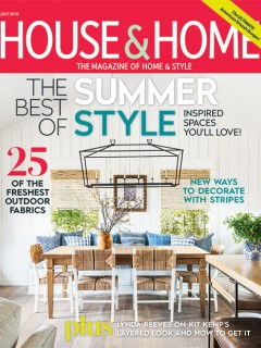 House & Home, July 2018