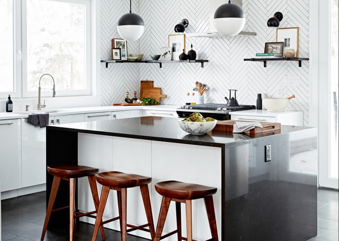 Kitchen designed by Sarah Richardson and Tiffany Piotrowski